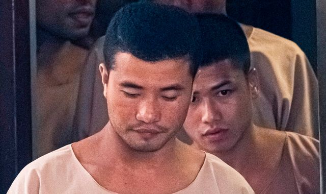 Thai king commutes death sentences for two men over killings of UK tourists