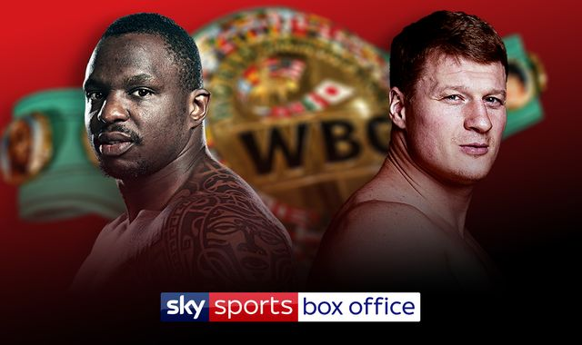 Whyte vs Povetkin: WBC's prestigious 'Diamond' belt also at stake when Dillian Whyte battles Alexander Povetkin