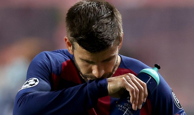 Gerard Pique says Barcelona have hit rock bottom after shocking 8-2 defeat