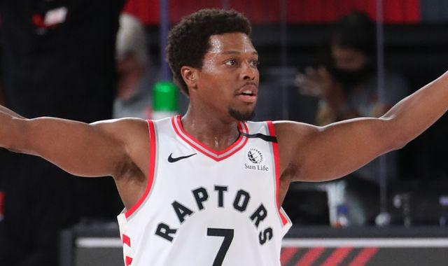 Kyle Lowry scores 33 points to lead Toronto Raptors past Los Angeles Lakers