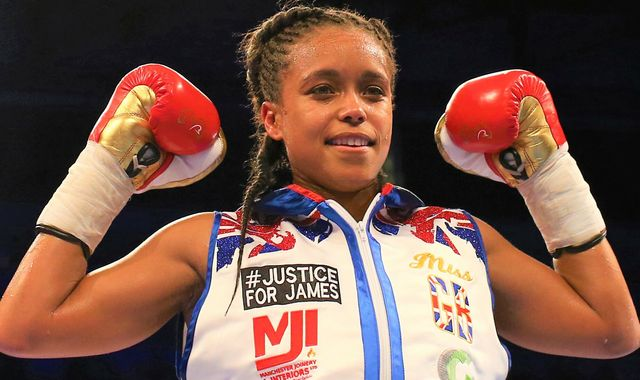 Natasha Jonas talks about world title concerns, speaking out against discrimination, and inflicting a 'massive shock' on Terri Harper