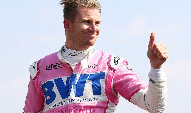 Nico Hulkenberg eyes seat on 2021 F1 grid after super Silverstone