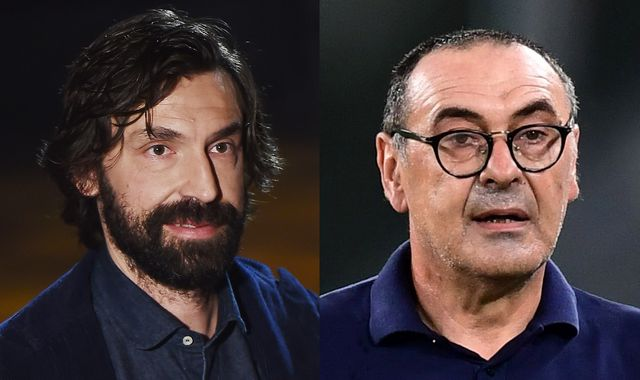 Andrea Pirlo set to replace Maurizio Sarri as Juventus head coach