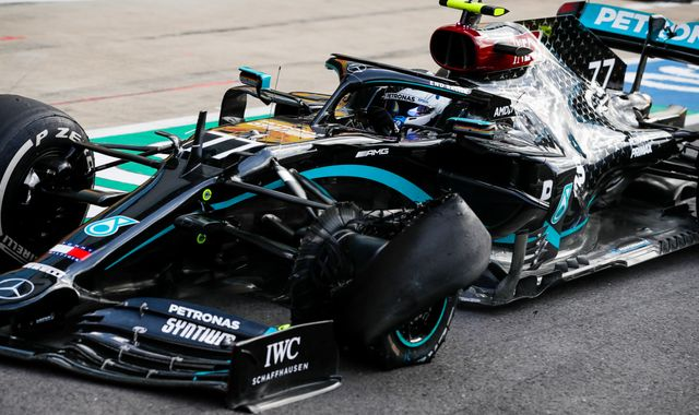 British GP F1 tyre failures explained by Pirelli: 'Biggest forces ever'