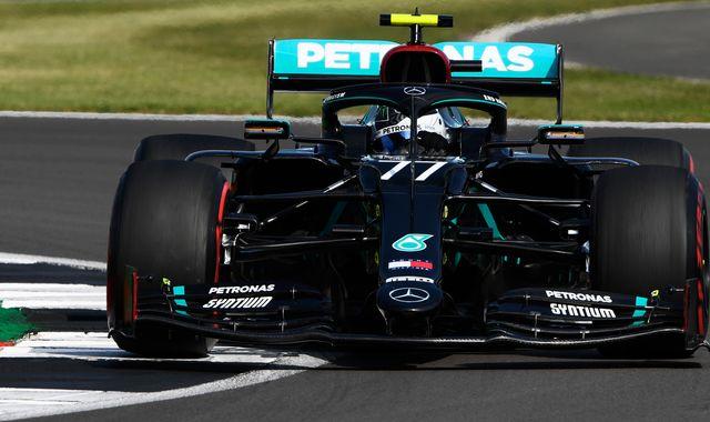British GP Practice Three: Valtteri Bottas fastest from Lewis Hamilton