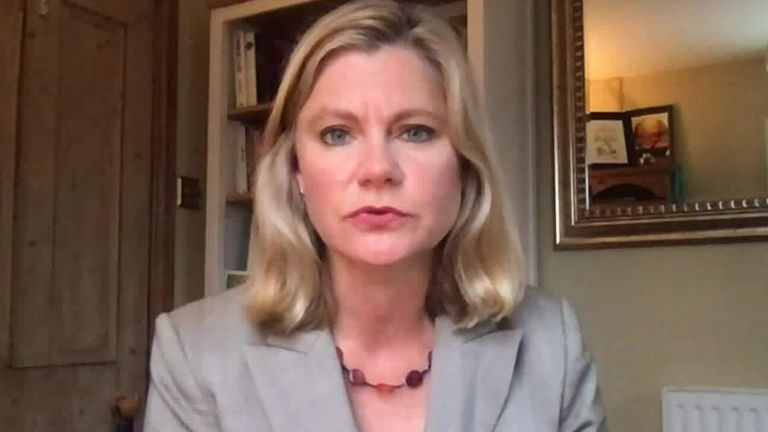 Former Education Secretary Justine Greening