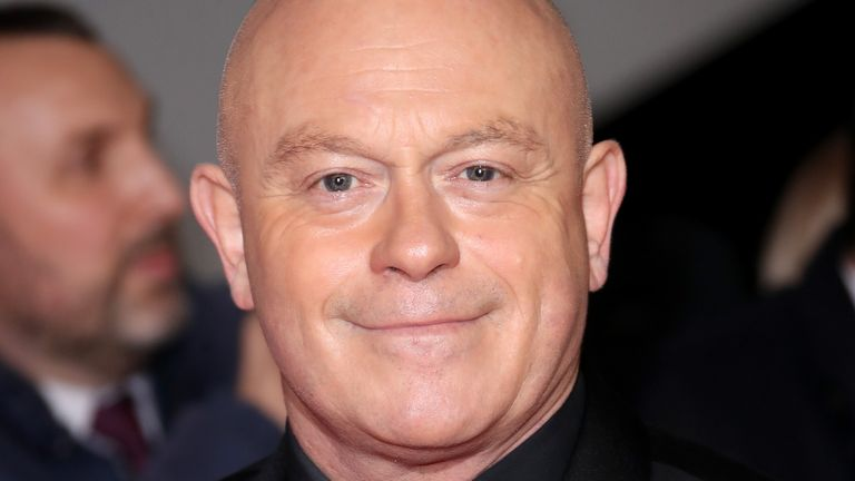 LONDON, ENGLAND - JANUARY 23: Ross Kemp attends the National Television Awards 2018 at The O2 Arena on January 23, 2018 in London, England. (Photo by Mike Marsland/Mike Marsland/WireImage)