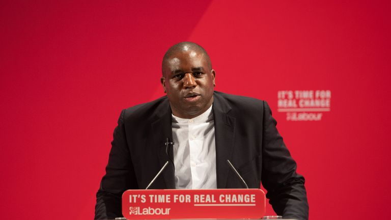"File photo dated 26/11/19 of Shadow justice secretary David Lammy who has said there have been several reviews into racism in the UK in recent years - and the announcement of Boris Johnson's pledge to establish a cross-government commission on racial inequality, makes it feel like ""we want figures, data - but we don't want action""."