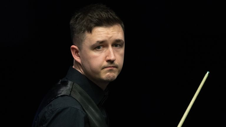 Kyren Wilsonduring day four of the Betway UK Championship at the York Barbican.