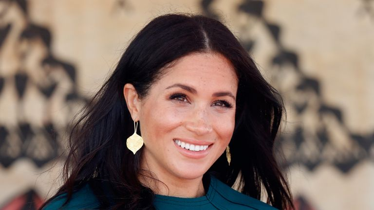 "File photo dated 25/10/18 of the Duchess of Sussex, who said that it was ""devastating"" to return to the United States and see the ""state of affairs"" it was in. Speaking at a virtual event organised by The 19th, a US non-profit, non-partisan newsroom, Meghan said it was ""so sad to see where our country was in that moment."