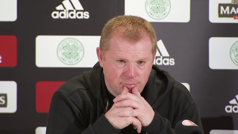 Neil Lennon says any Celtic players who want to leave the club are welcome to exit after the club's defeat in the Champions League