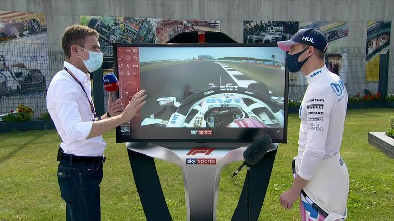 Sky F1's Paul di Resta and Nico Hulkenberg analyse his stunning lap in qualifying,  which saw him seal third position ahead of the 70th Anniversary GP
