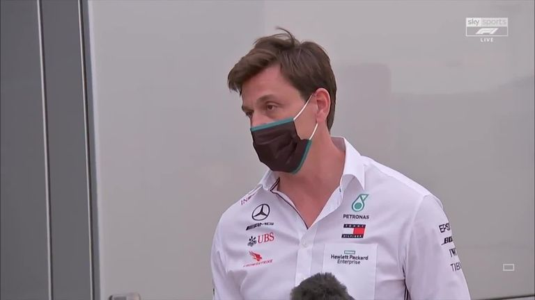 Toto Wolff had some strong comments for some of Mercedes' rivals amid a day of high off-track political drama at Silverstone
