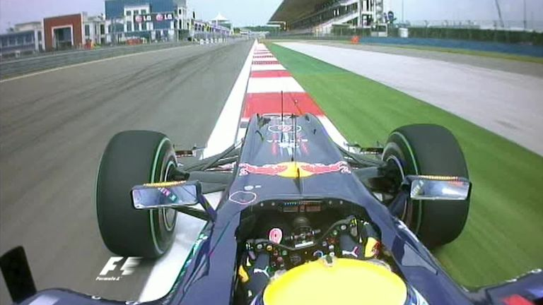 Go on board with 2010 polesitter Mark Webber for a lap of the fast and very challenging Istanbul Park ahead of the Turkish GP's return in November