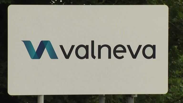 Valneva's centre of operations is in Livingston