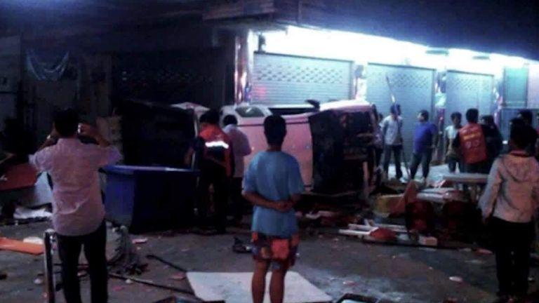 Thailand road deaths