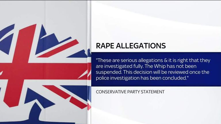 Conservative Party statement