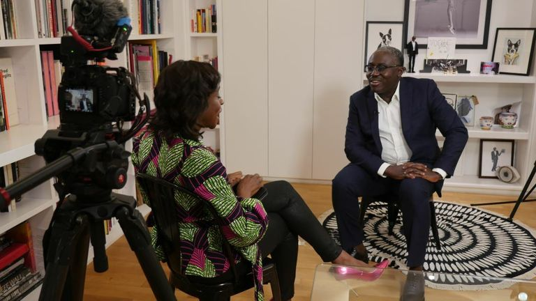 Gillian Joseph speaks to Vogue editor Edward Enninful