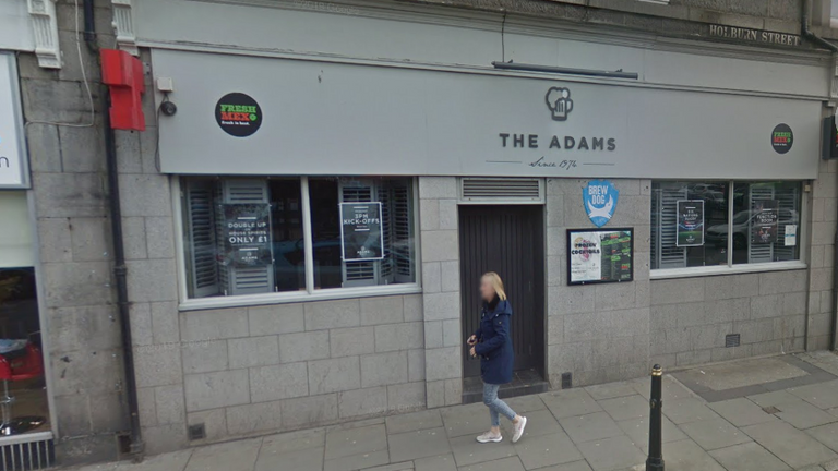 The Adam Lounge & Hawthorn Bar in Aberdeen. Pic: Google Street View