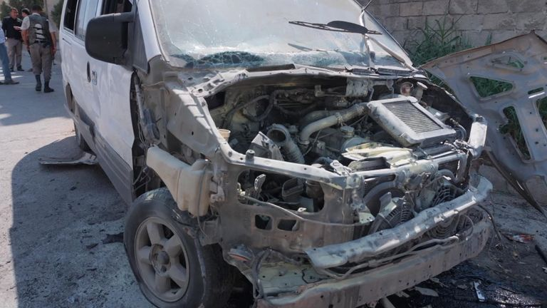 Attacks continue inside Syria's 'buffer zone'