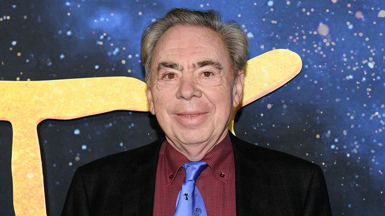 Andrew Lloyd Webber attends the world premiere of Cats