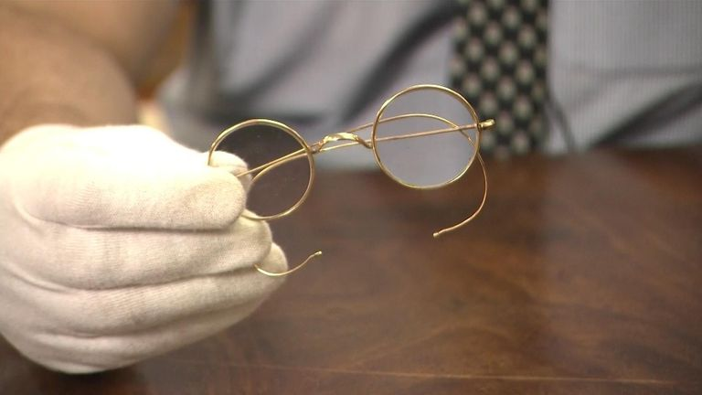 East Bristol Auctions think the glasses could fetch 'way more' than £15,000