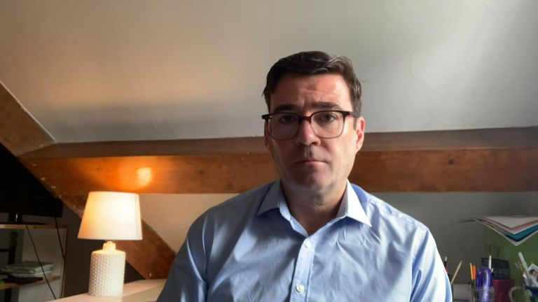 The mayor of greater Manchester, Andy Burnham was asked why there have been several localised lockdowns in the area specifically,