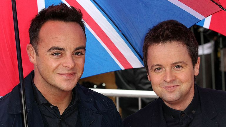 Ant and Dec say they told Cowell that someone else could have their job