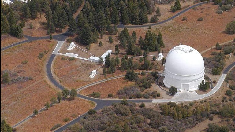 Palomar Observatory in San Diego County, California. Pic: Gerard T. van Belle