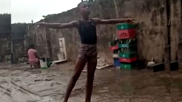 11-year-old boy gains scholarship from US ballet school after video of him in Nigeria went viral