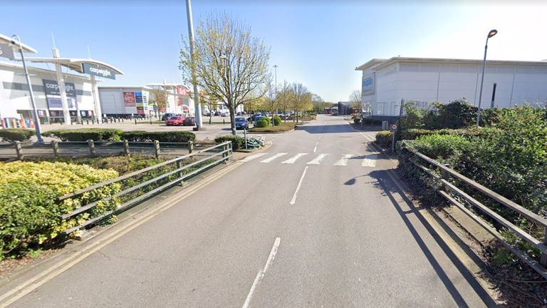 The appeal had been launched after the car went missing, having last been seen at Beckton Triangle. Pic: Google Maps