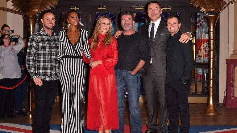 The current BGT judge line-up