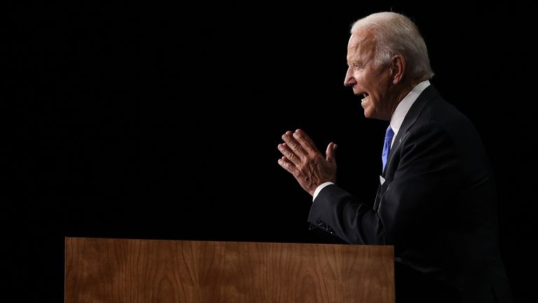 Democratic presidential nominee Joe Biden's delivered an 'energising' pitch that 'packed a punch'