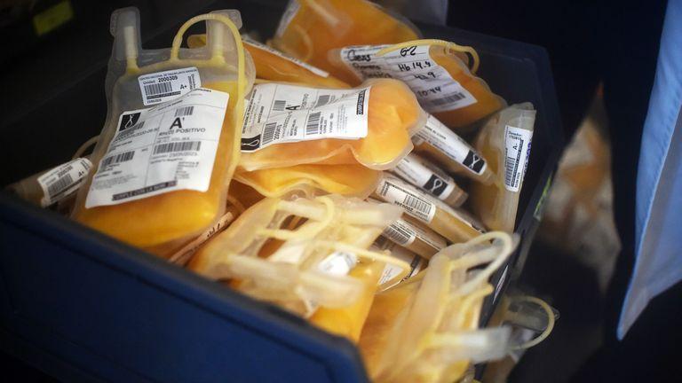 Convalescent plasma is rich in antibodies