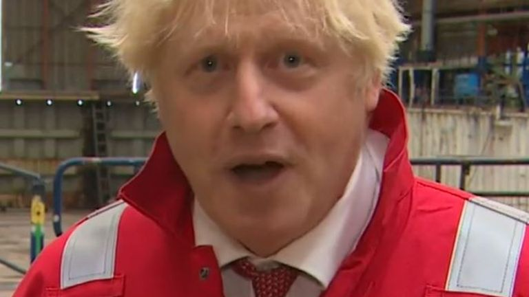 Boris Johnson says that rules about masks in schools could change depending on what his medical advisers tell him