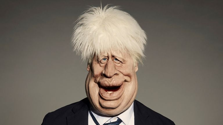 Embargoed to 0001 Wednesday August 05 Undated handout photo issued by Avalon of a puppet with the likeness of Prime Minister Boris Johnson, created for the new series of Spitting Image, which will air exclusively on the ITV/BBC led streaming service BritBox in the Autumn.