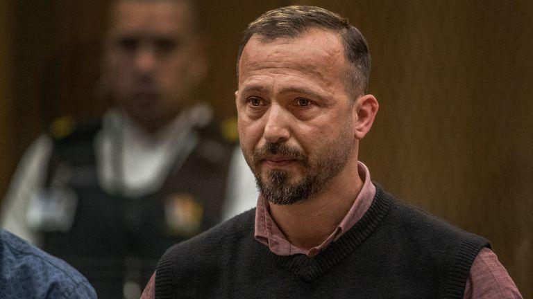 Temel Atacocugu addressed Tarrant in court