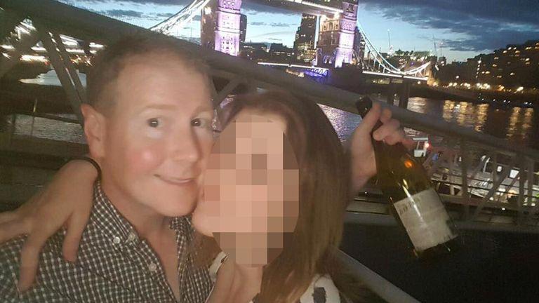 Brett McCullough was driving the train when it derailed, killing him