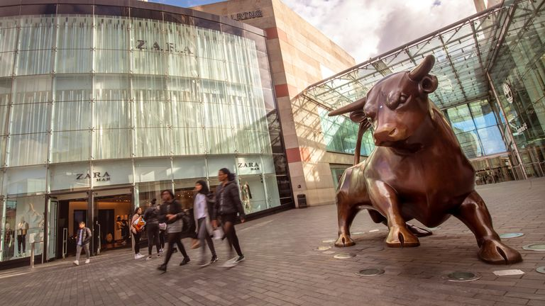 Hammerson owns the Bullring in Birmingham