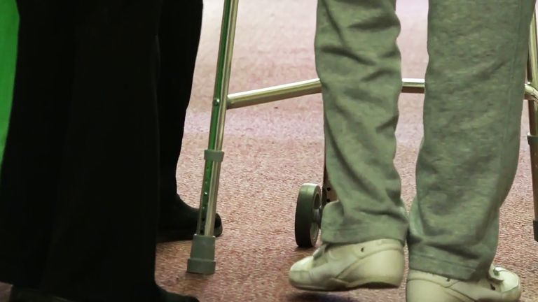 The government insists it is sending 50,000 tests a day to care homes across the country