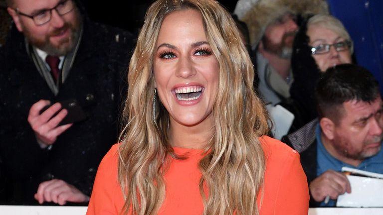 Caroline Flack at the National Television Awards