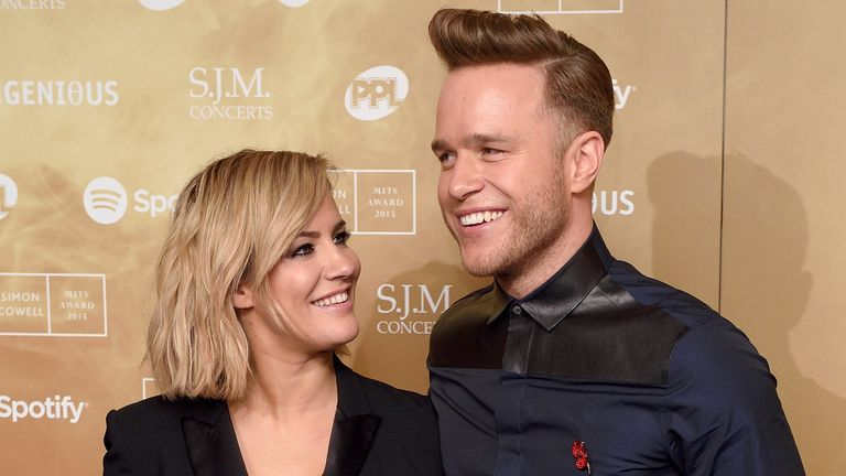 Caroline Flack presented Xtra Factor and one series of The X Factor with Olly Murs
