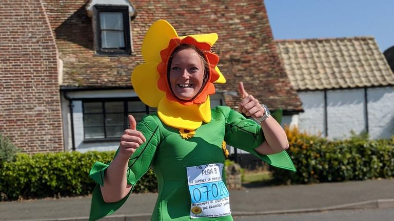 Chloe fears the London Marathon's postponement will be a huge financial loss to many charities