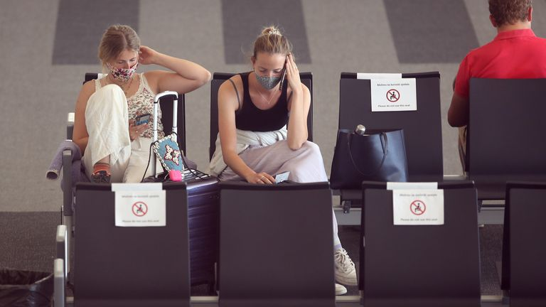 Some holidaymakers in Croatia are facing a headache to get home
