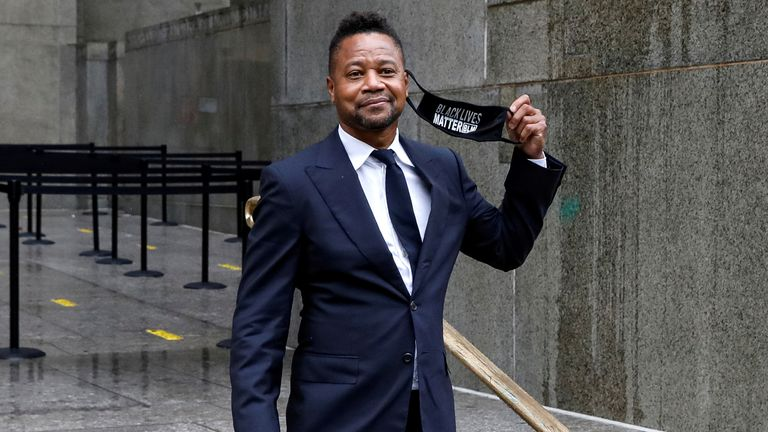 Gooding Jr appeared in court earlier in the month accused of sexual abuse