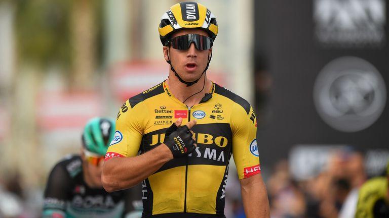 Dylan Groenewegen has apologised for the crash