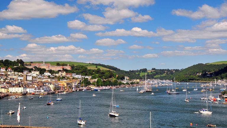 Dartmouth is £59 a night cheaper than Salcombe, but scores more highly in terms of customer satisfaction. File pic