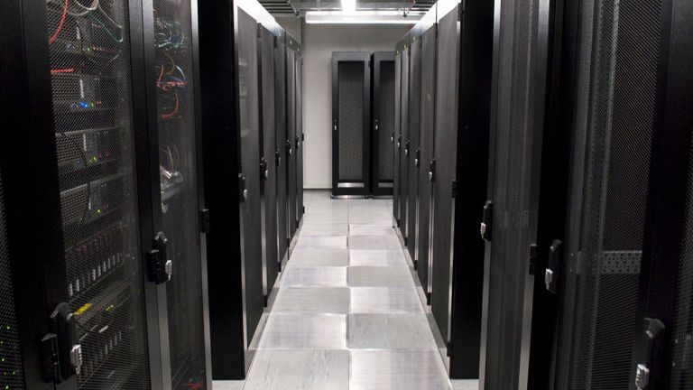 Room in a Data Centre / Datacentre. (Photo by Dafydd Owen/Construction Photography/Avalon/Getty Images)