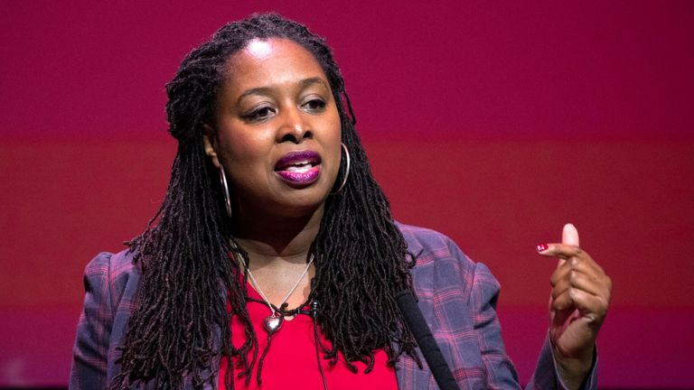 Labour MP Dawn Butler, who has accused police of racially profiling her after she was stopped by officers while in a car
