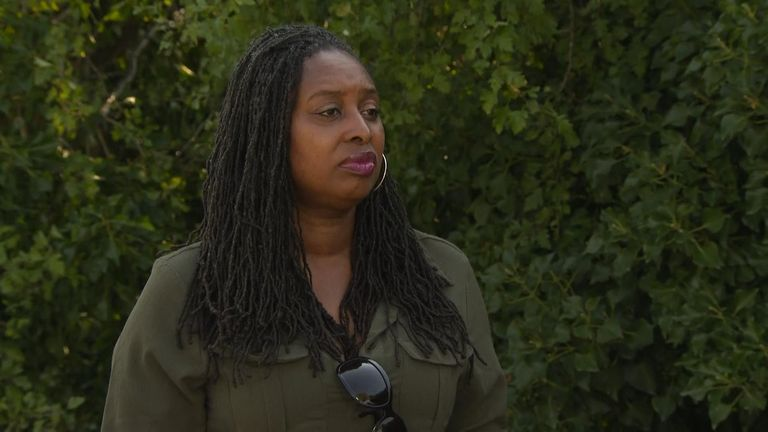 Dawn Butler MP said she is 'angry and annoyed' after being stopped by police in east London.